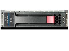 HPE 1TB SATA 6G Midline 7.2K LFF (3.5in) SC 1yr Wty HDD