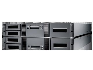 HPE StoreEver MSL2024 Bandbibliothek ohne Laufwerke Left facing