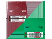 Etikettierte HPE Bänder mit kundenspezifischer Nummernfolge