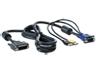HP AF613A 1x4 1,83 m-es USB-kábel billentyűzet-, video- és egérkonzolhoz