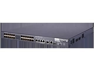 Commutateur HPE FlexFabric 5820X 24XG SFP+ Left facing