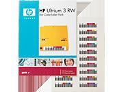 HP LTO3 Ultrium RW バーコードラベル パック