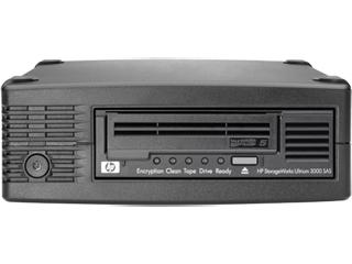 HPE StoreEver LTO-5 Ultrium 3000 SAS External Tape Drive/S-Buy Center facing