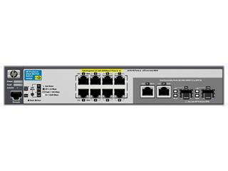 Aruba 2915 8G PoE Switch Center facing