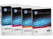 Cartuccia disco rimovibile HPE RDX