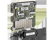 Contrôleur HPE Smart Array P711m/1G 6 Gb, 4 ports, mezzanine, externe, avec cache de réécriture flash