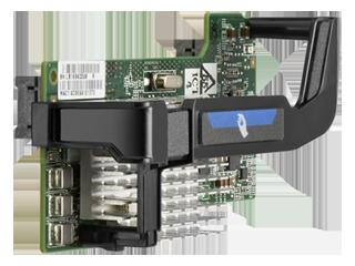 HPE Flex-10 10Gb 2-port 530FLB Adapter Right facing