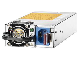 HPE 750W Common Slot Platinum Plus Hot Plug Power Supply Kit Left facing