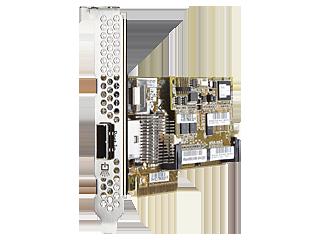 Controlador SAS HPE Smart Array P222/512MB FBWC, 6 Gb, 1 puerto interno/1 puerto externo Left facing