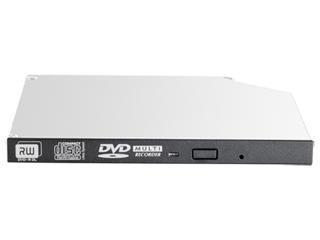 Unidad óptica JackBlack Gen9 de DVD-RW SATA de 9,5 mm HPE Center facing