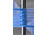 HP QK734A Premier Flex LC/LC Multi-mode OM4 5 szálas, 5 m-es kábel