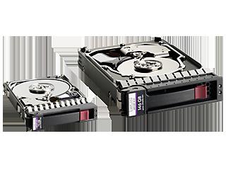 HPE Server SAS-Festplatten Right facing