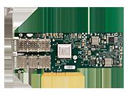 Адаптер HPE InfiniBand FDR/Ethernet 10/40 Гбит, 2 разъема, 544 + QSFP