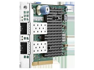 HPE Ethernetadapter mit zwei Anschlüssen, 10 Gbit/s, 560FLR-SFP+ Right facing