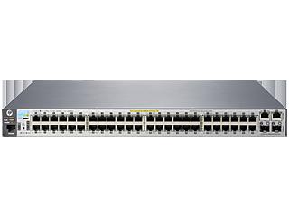 Aruba 2530 48 PoE+ Switch Center facing