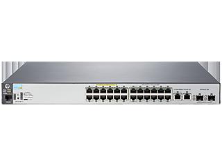 Aruba 2530 24 PoE+ Switch Center facing