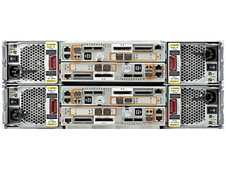Base de cuatro nodos HPE 3PAR StoreServ 7450 para bastidor de almacenamiento centralizado Rear facing