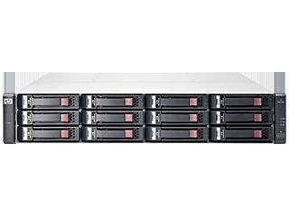 HPE MSA 2040 Energy Star SAS Dual Controller LFF Storage Center facing