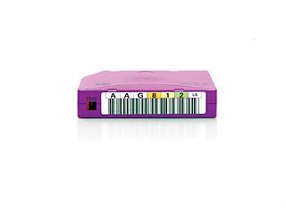 Cartouche de données à étiquetage personnalisé BaFe RW HPE LTO-6 Ultrium 6,25 To (lot de 20) Center facing