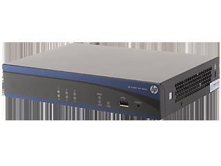 HPE MSR900 2-port FE WAN / 4 -port FE LAN Router Left facing