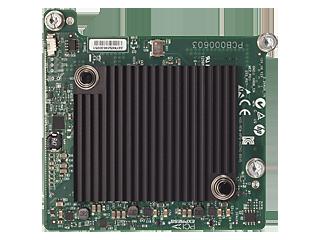 HPE InfiniBand FDR 545M Adapter mit 2 Anschlüssen Center facing