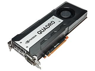 NVIDIA Quadro K6000 PCI-E Graphics Adapter Right facing