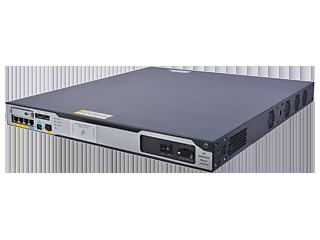 HPE FlexNetwork MSR3024 DC Router Left facing