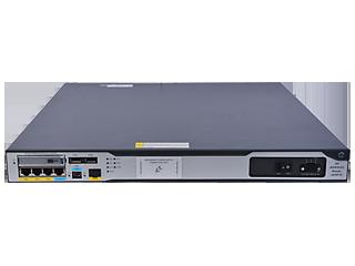 HPE FlexNetwork MSR3024 DC-Router Center facing