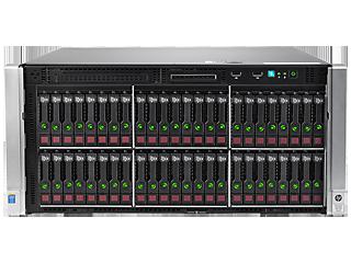 HPE ProLiant ML350 Gen9 E5-2620v4 1P 16GB-R H240ar 8SFF 2x500W PS Server/TV Center facing