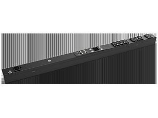 PDU medida conmutada HPE 3,6 kVA/60320 C20 desmontable tomas de corriente 16 A/230 V (7) C13 (1) C19/vertical internacional Right facing