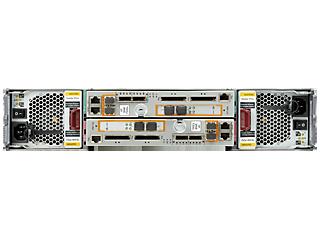 Base de almacenamiento de 2 nodos HPE 3PAR StoreServ 7200c para bastidor de almacenamiento centralizado Rear facing