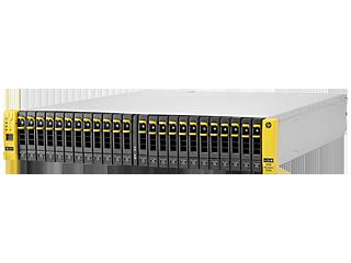 Base de almacenamiento de 2 nodos HPE 3PAR StoreServ 7200c para bastidor de almacenamiento centralizado Left facing