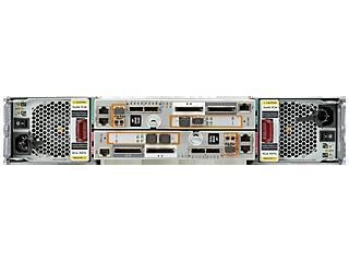 Base de almacenamiento de 2 nodos HPE 3PAR StoreServ 7450c Rear facing