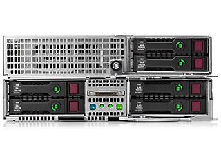 Serveur HPE ProLiant XL250a Gen9 Center facing
