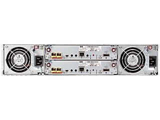 HPE MSA 1040 2-port 1G iSCSI Dual Controller SFF Storage Rear facing