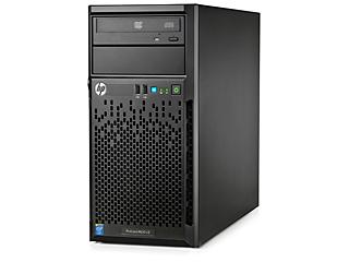 HPE ProLiant ML10 v2 Server Left facing