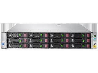 HPE StoreEasy 1650 32TB SAS Storage Center facing