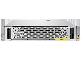 HPE StoreEasy 1850 9.6TB SAS Storage Center facing
