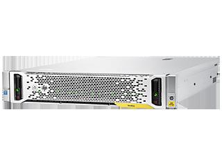 HPE StoreEasy 1850 9.6TB SAS Storage Left facing