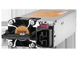 HPE Universal Hot-Plug-Stromversorgungskit für flexiblen Steckplatz, 800 W Left facing