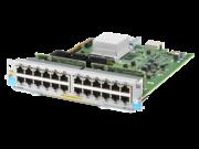 Aruba 24-port 10/100/1000BASE-T PoE+ MACsec v3 zl2 Module