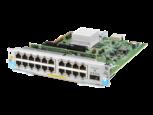 Módulo Aruba 10/100/1000BASE-T PoE+ de 20 puertos / MACsec v3 zl2 QSFP+ 40 GbE de 1 puerto