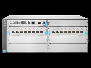 Aruba 5406R SFP+ mit 16 Anschlüssen (keine PSU) v3 zl2-Switch Center facing