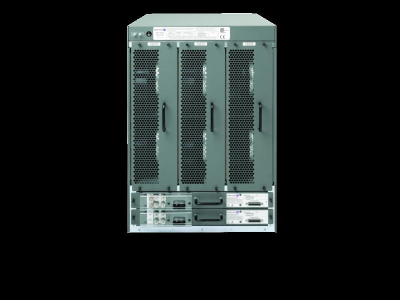 Paquete de inicio de chasis de alimentación CC para el módulo de procesador de control y estructura del conmutador Alcatel-Lucent 7750-SR12 Rear facing