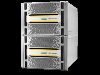 Cambio a nodo de controlador para HPE 3PAR StoreServ 20850 de 2 x 8 núcleos, 2,5GHz, caché de control de 192 GB y caché de datos de 256 GB Left facing