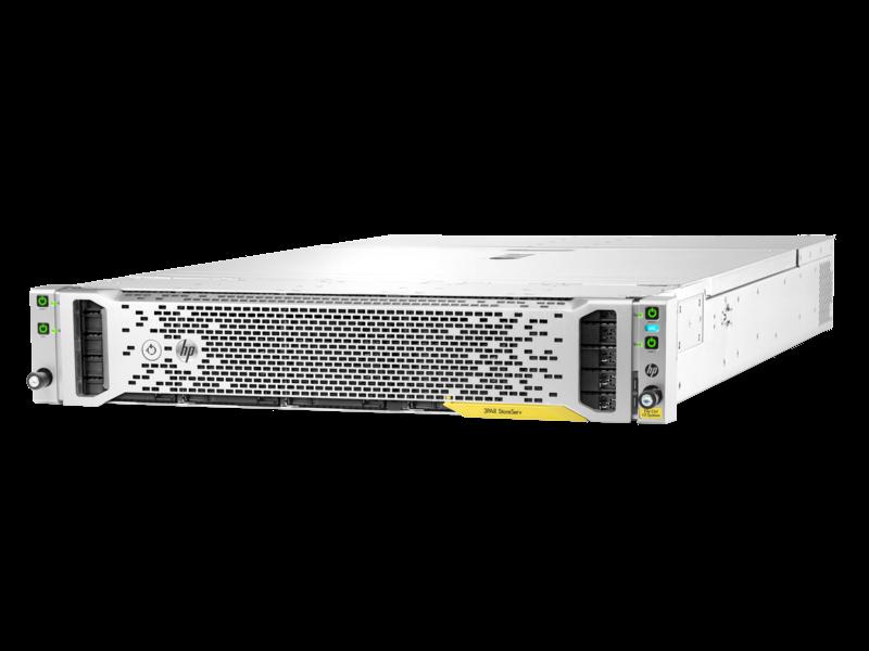 Sistema controller file HPE 3PAR StoreServ v3 Left facing