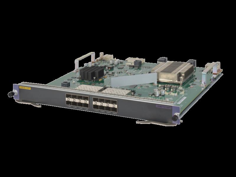 HPE FlexNetwork 10500 16-port 1/10GbE SFP+ SF Module