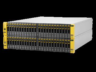 Base de almacenamiento de 4 nodos para bastidor centrado en almacenamiento para HPE 3PAR StoreServ 8440 Left facing