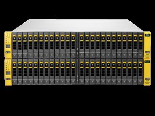 Base de almacenamiento de 4 nodos para HPE 3PAR StoreServ 8450 Center facing