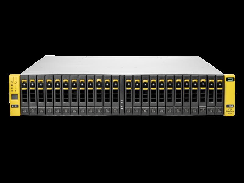 HPE 3PAR 8400アップグレードノードペア (包括的なシングルシステムソフトウェア付属) Center facing